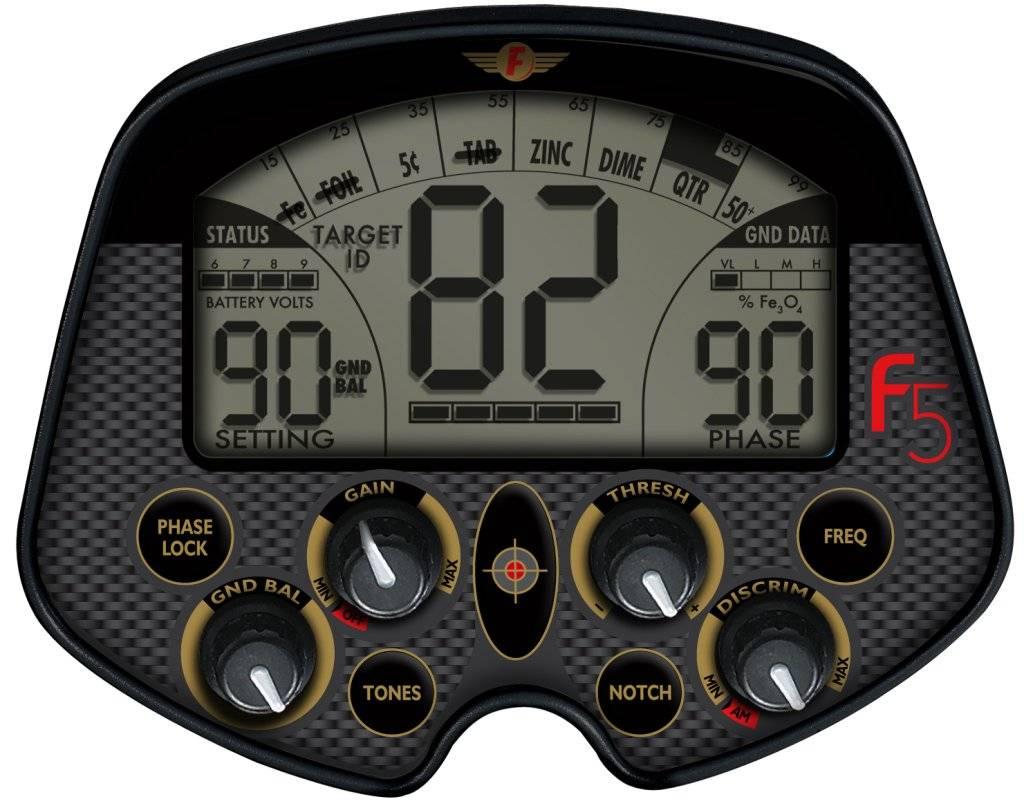 Fisher F5 - панель управления