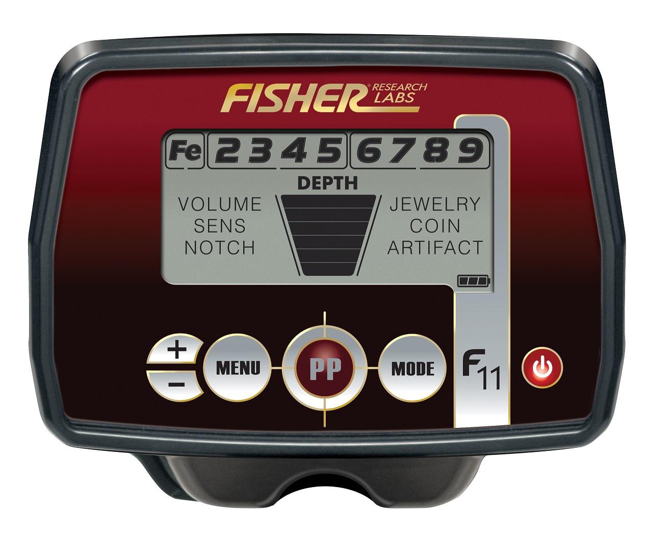 Дисплей металлоискателя Fisher F11