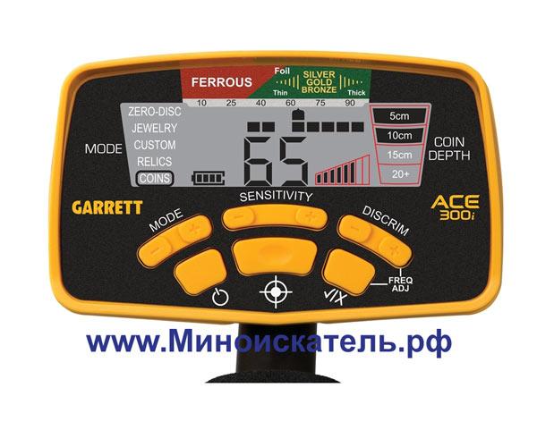 Панель металлоискателя ACE 300i