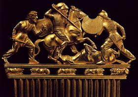 Кладоискательство - золото скифов из курганов