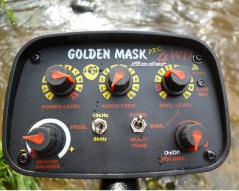 Металлоискатель Golden Mask 4WD - блок управления