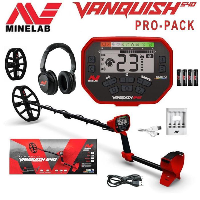 Полная комплектация Minelab Vanquish