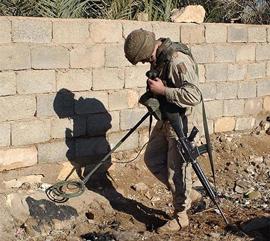типичный армейский миноискатель