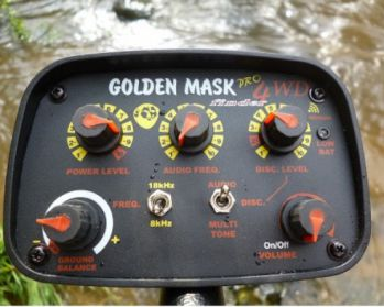 Дисплей Golden Mask 4WD PRO (9S)