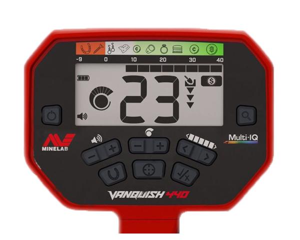 панель управления металлоискателем Vanquish 440