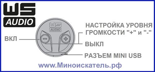 Управление наушниками XP WS-Audio
